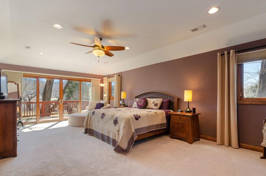 Real Estate Photography - 1065 N. Harrison Street, Algonquin, IL, 60102 - Master Bedroom