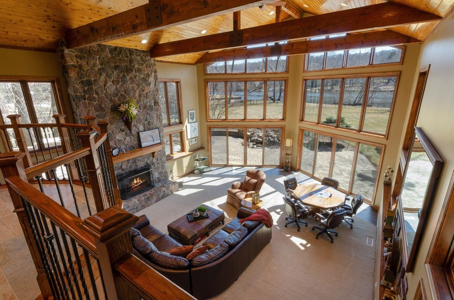 Real Estate Photography - 1065 N. Harrison Street, Algonquin, IL, 60102 - Family Room