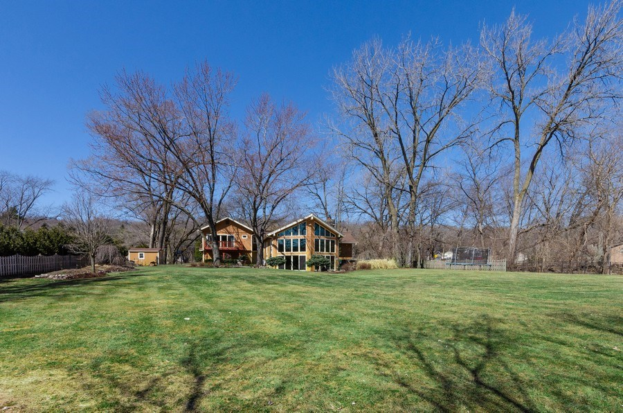 Real Estate Photography - 1065 N. Harrison Street, Algonquin, IL, 60102 - Rear View