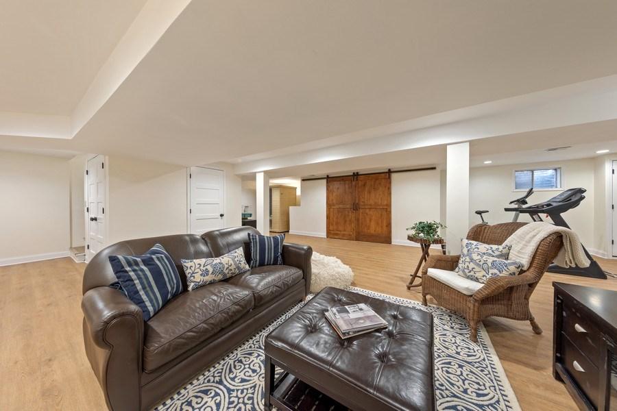 Real Estate Photography - 301 Fox Hunt Trail, Barrington, IL, 60010 - Lower Level