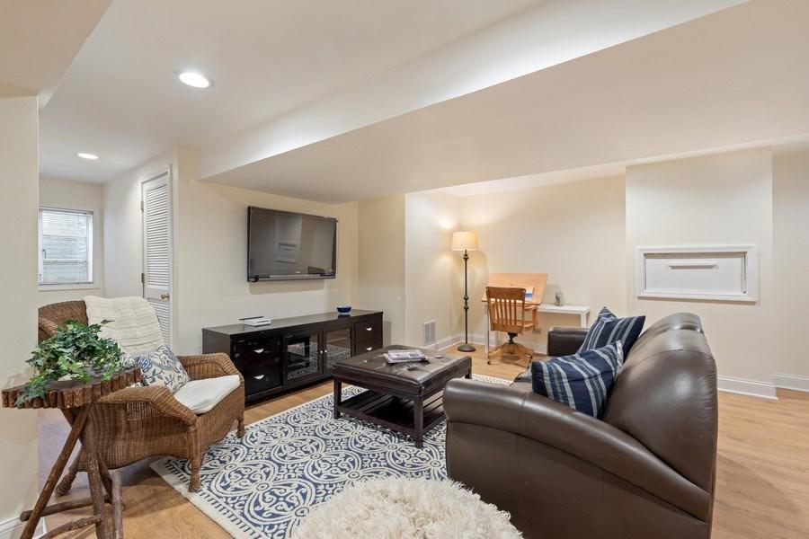 Real Estate Photography - 301 Fox Hunt Trail, Barrington, IL, 60010 - Recreational Room