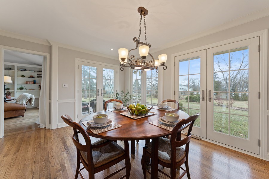 Real Estate Photography - 301 Fox Hunt Trail, Barrington, IL, 60010 - Breakfast Area
