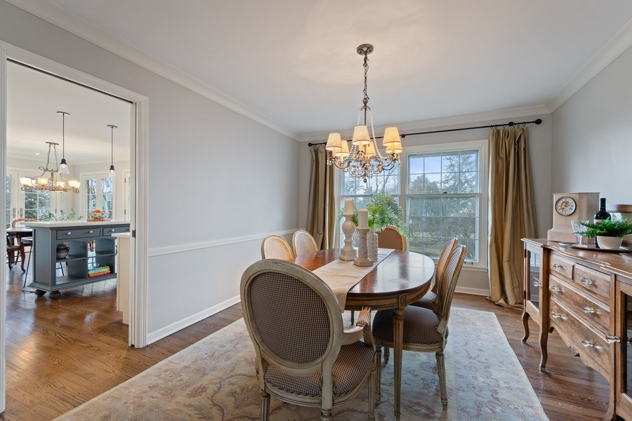 Real Estate Photography - 301 Fox Hunt Trail, Barrington, IL, 60010 - Dining Room