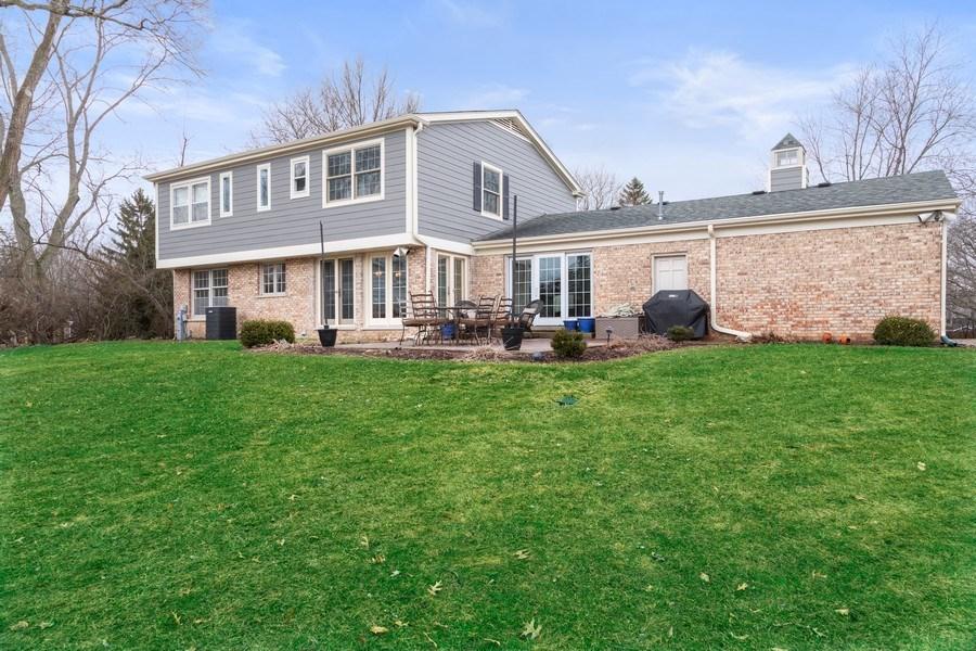 Real Estate Photography - 301 Fox Hunt Trail, Barrington, IL, 60010 - Rear View