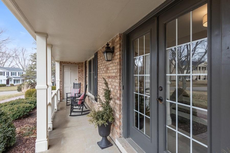 Real Estate Photography - 301 Fox Hunt Trail, Barrington, IL, 60010 - Porch