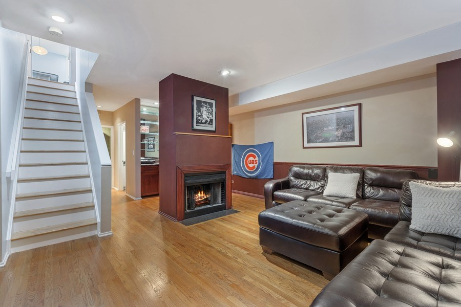 Real Estate Photography - 1810 N Fremont Street, Unit 12, Chicago, IL, 60614 - Lower Level