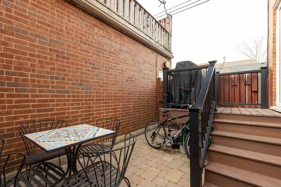Real Estate Photography - 1810 N Fremont Street, Unit 12, Chicago, IL, 60614 - Patio