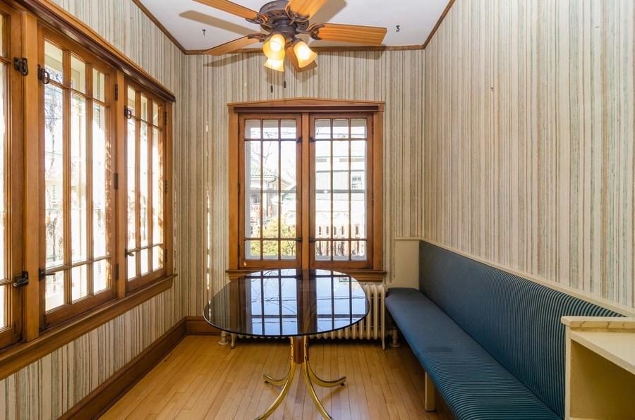 Real Estate Photography - 4506 N. Richmond Street, Chicago, IL, 60625 - Kitchen / Breakfast Room