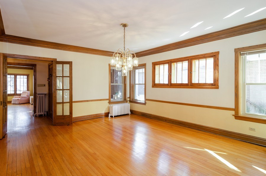 Real Estate Photography - 4506 N. Richmond Street, Chicago, IL, 60625 - Dining Room