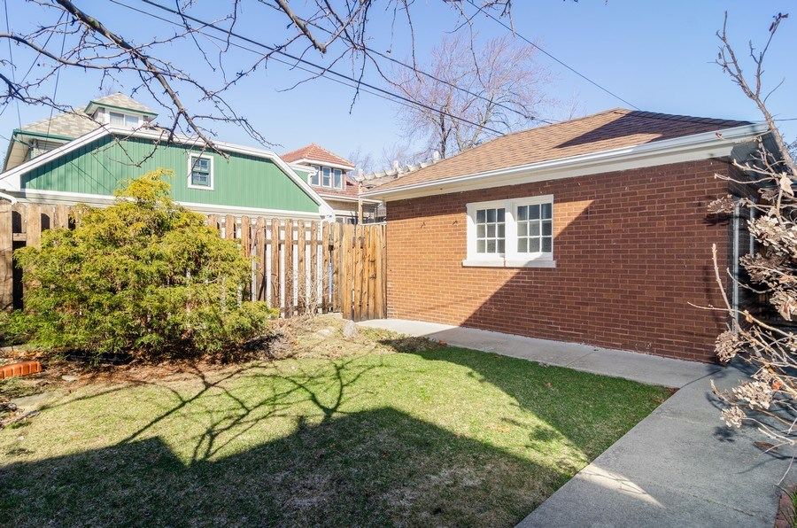 Real Estate Photography - 4506 N. Richmond Street, Chicago, IL, 60625 - Back Yard