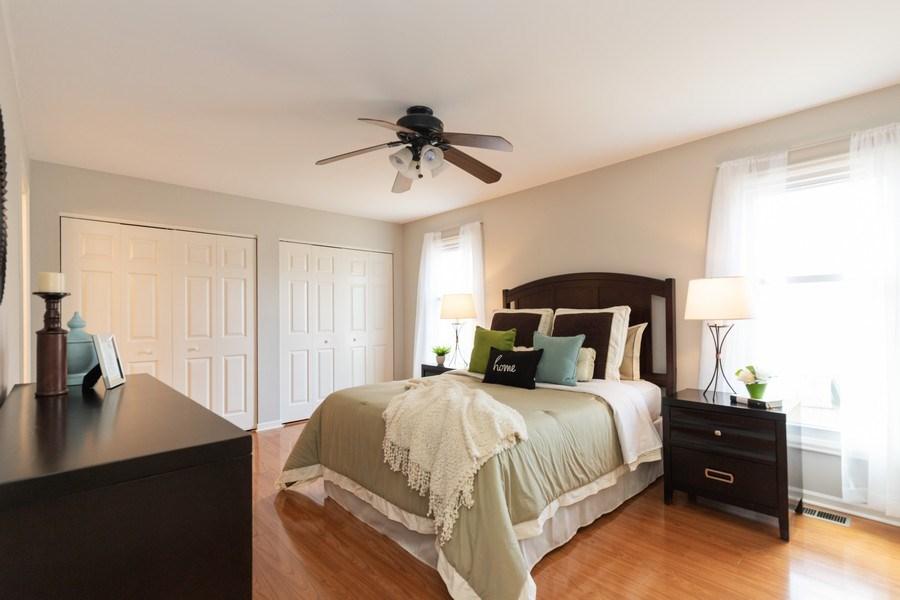 Real Estate Photography - 4980 Oak Ln, Gurnee, IL, 60031 - Master Bedroom