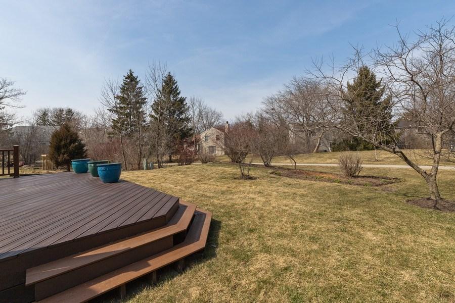 Real Estate Photography - 4980 Oak Ln, Gurnee, IL, 60031 - Back Yard