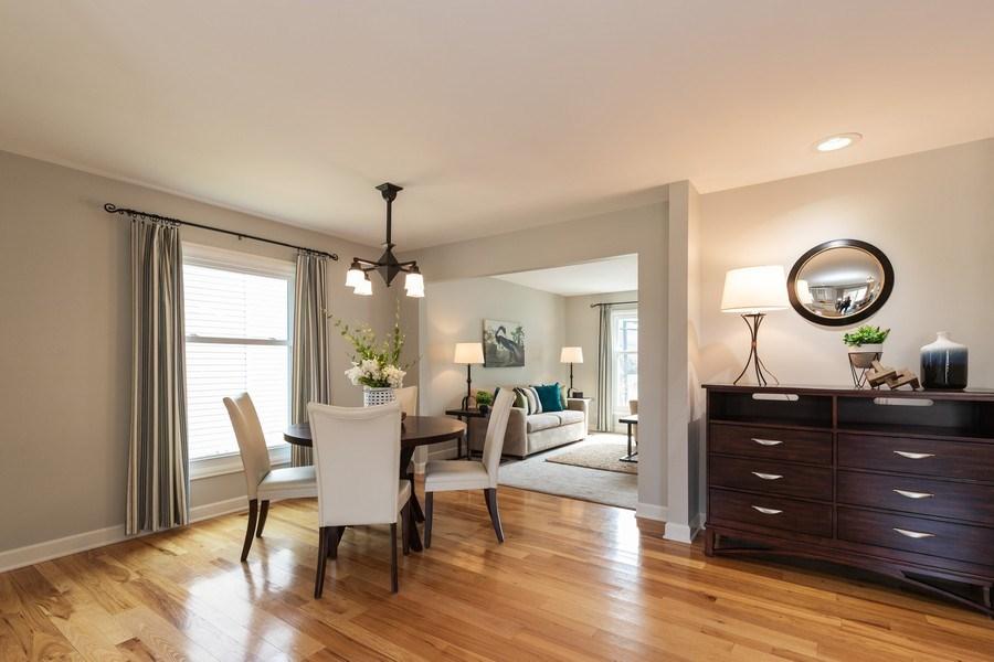 Real Estate Photography - 4980 Oak Ln, Gurnee, IL, 60031 - Breakfast Area