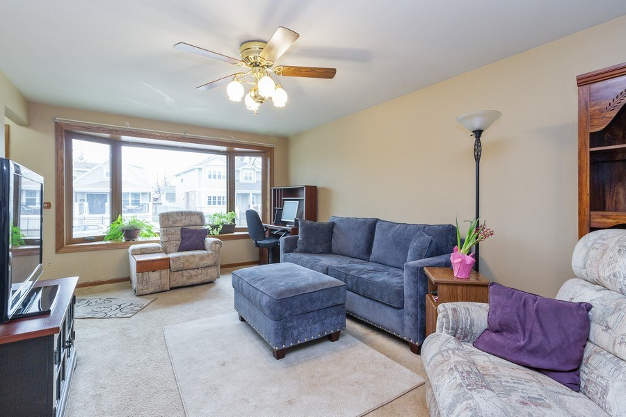 Real Estate Photography - 11116 S. Spaulding Avenue, Chicago, IL, 60655 - Living Room