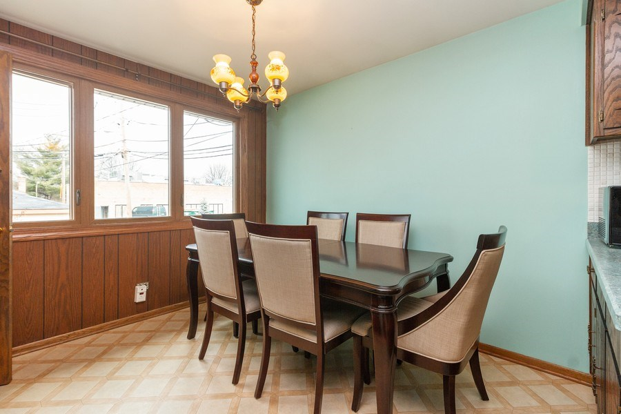 Real Estate Photography - 11116 S. Spaulding Avenue, Chicago, IL, 60655 - Dining Room