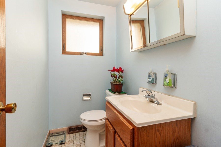 Real Estate Photography - 11116 S. Spaulding Avenue, Chicago, IL, 60655 - 2nd Bathroom