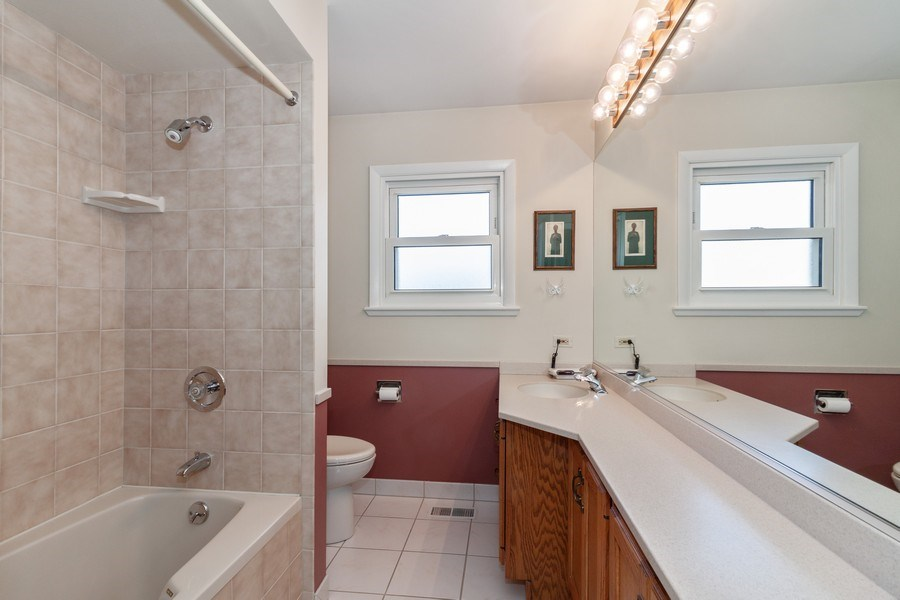 Real Estate Photography - 6613 Briargate Drive, Downers Grove, IL, 60516 - Bathroom