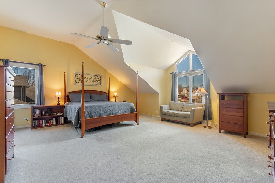 Real Estate Photography - 624 Bailey Dr, Batavia, IL, 60510 - Master Bedroom