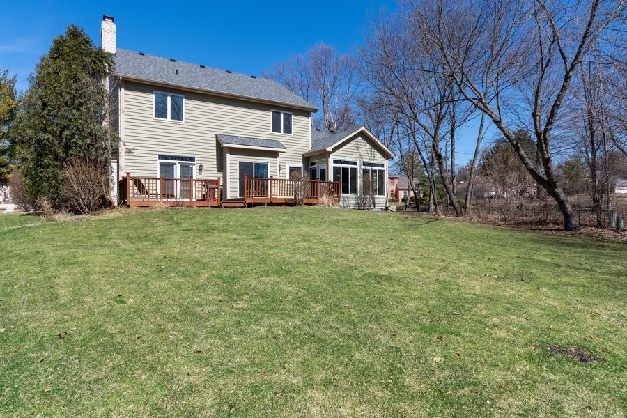 Real Estate Photography - 624 Bailey Dr, Batavia, IL, 60510 - Back Yard