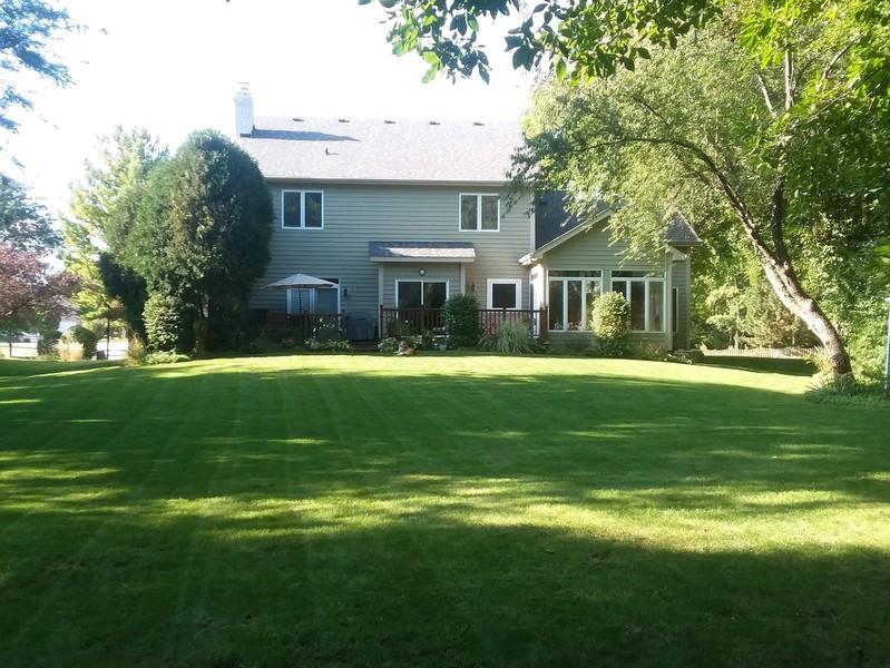 Real Estate Photography - 624 Bailey Dr, Batavia, IL, 60510 - Backyard in the Summer