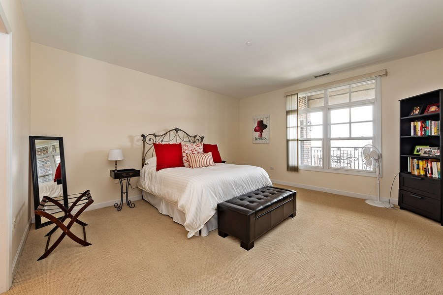 Real Estate Photography - 151 WING Street, Unit 506, Arlington Heights, IL, 60005 - 2nd Bedroom