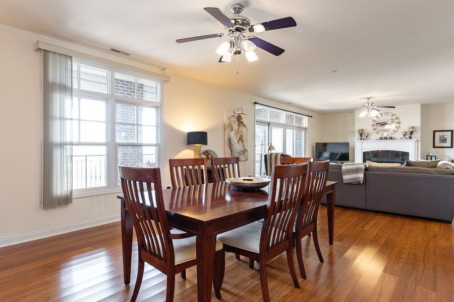 Real Estate Photography - 151 WING Street, Unit 506, Arlington Heights, IL, 60005 - Dining Room