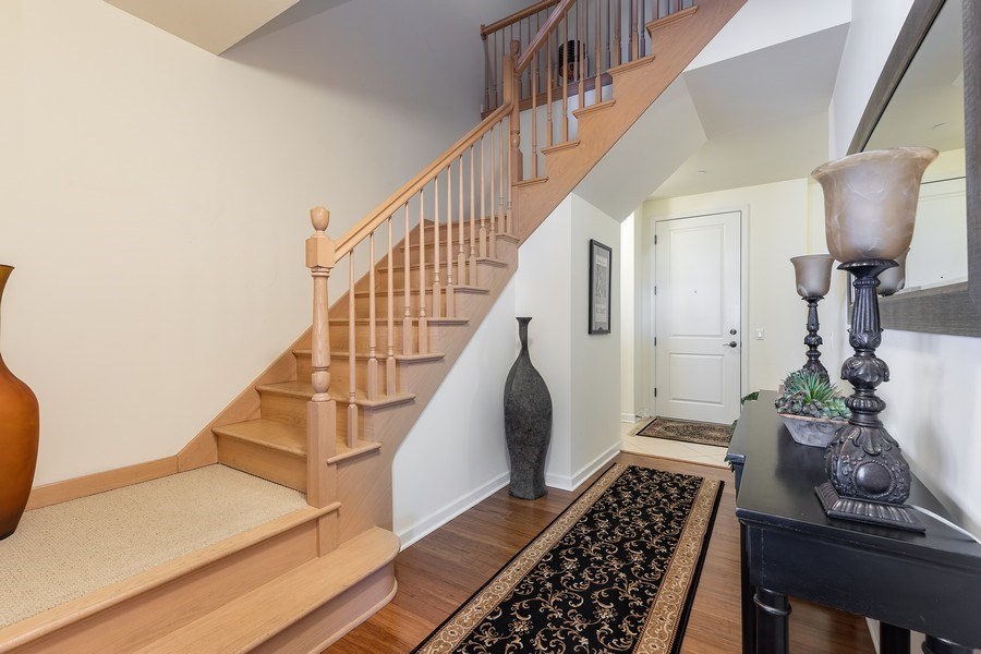 Real Estate Photography - 151 WING Street, Unit 506, Arlington Heights, IL, 60005 - Foyer
