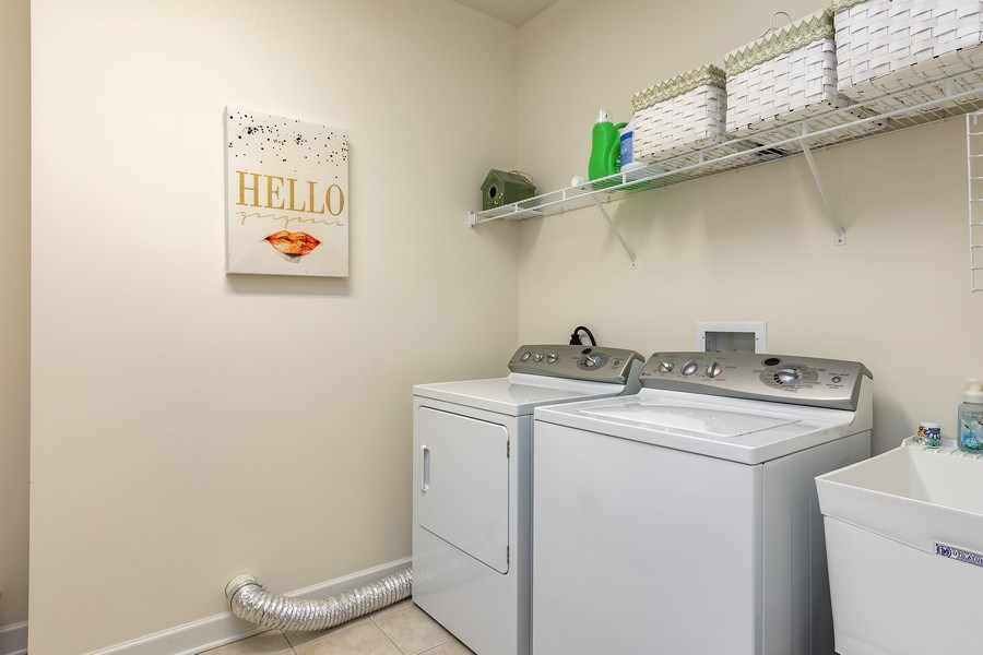 Real Estate Photography - 151 WING Street, Unit 506, Arlington Heights, IL, 60005 - Laundry Room