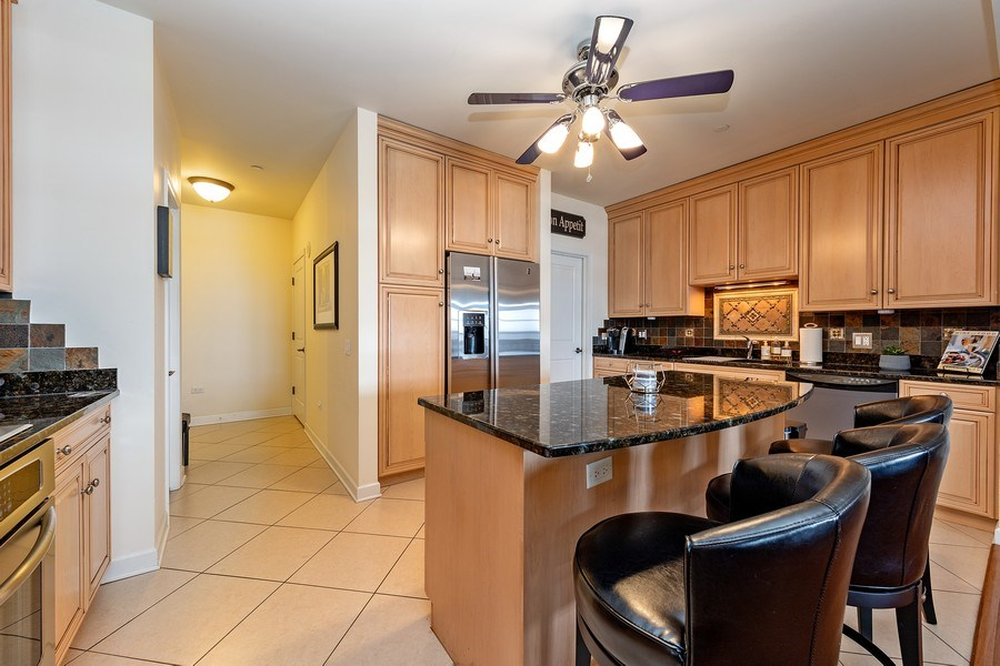 Real Estate Photography - 151 WING Street, Unit 506, Arlington Heights, IL, 60005 - Kitchen