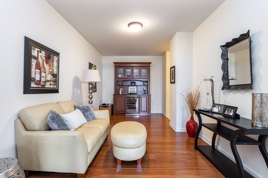 Real Estate Photography - 151 WING Street, Unit 506, Arlington Heights, IL, 60005 - Den