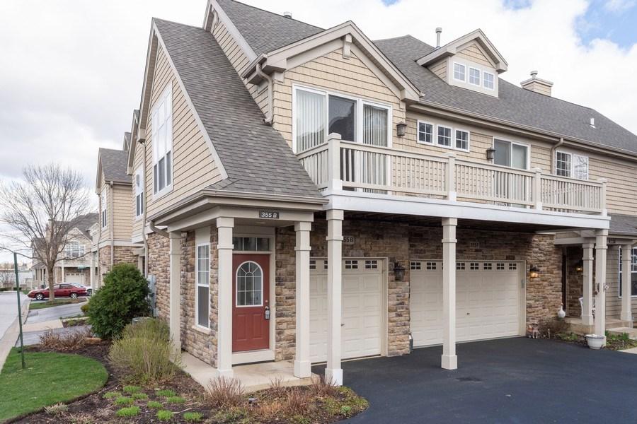 Real Estate Photography - 355 Promontory Lane, Unit B, Wauconda, IL, 60084 - Front View