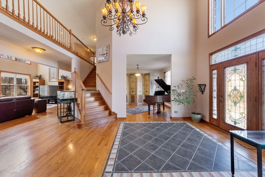 Real Estate Photography - 641 W. Ruhl Road, Palatine, IL, 60074 - Foyer/Dining Room