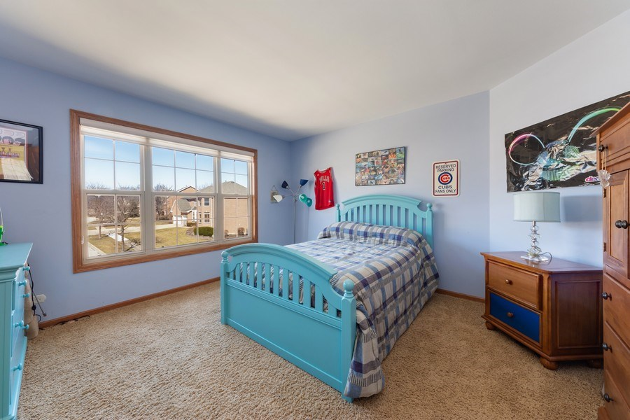 Real Estate Photography - 641 W. Ruhl Road, Palatine, IL, 60074 - 2nd Bedroom