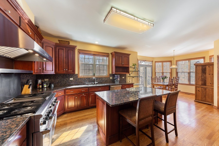 Real Estate Photography - 641 W. Ruhl Road, Palatine, IL, 60074 - Kitchen / Breakfast Room