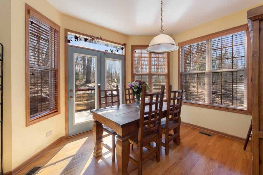 Real Estate Photography - 641 W. Ruhl Road, Palatine, IL, 60074 - Breakfast Area