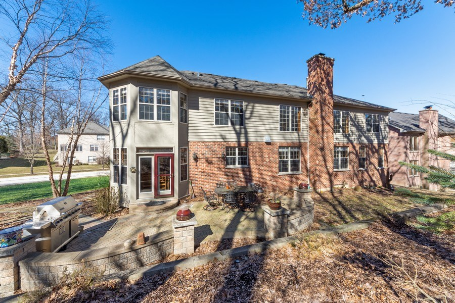 Real Estate Photography - 641 W. Ruhl Road, Palatine, IL, 60074 - Rear View