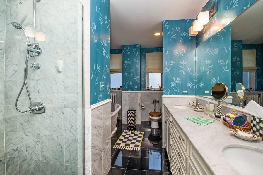 Real Estate Photography - 1120 N. LAKE SHORE Drive, Unit 12B, Chicago, IL, 60611 - Master Bathroom
