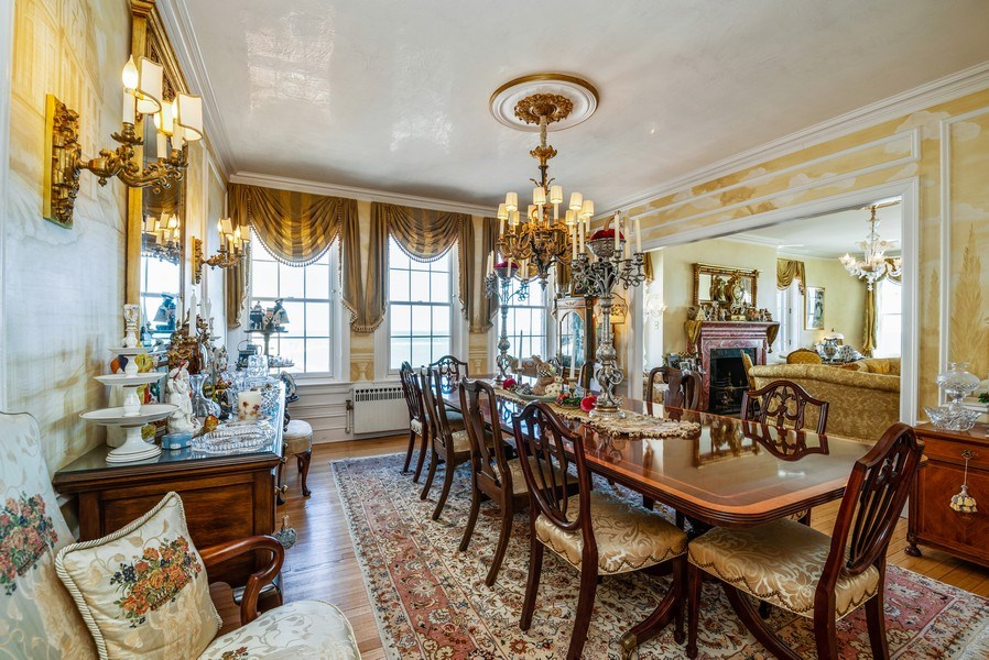 Real Estate Photography - 1120 N. LAKE SHORE Drive, Unit 12B, Chicago, IL, 60611 - Dining Room