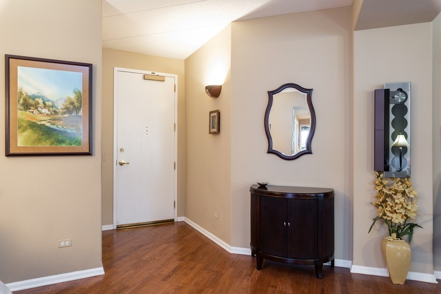 Real Estate Photography - 1731 Pavilion Way, Unit 301, Park Ridge, IL, 60068 - Foyer