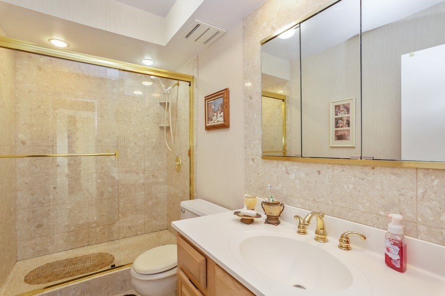 Real Estate Photography - 1405 E. Central Road, Unit 421C, Arlington Heights, IL, 60005 - Bathroom