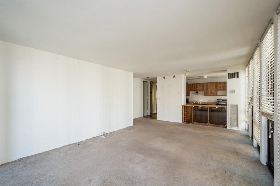 Real Estate Photography - 1 E. SCOTT Street, Unit 810, Chicago, IL, 60610 - Kitchen / Living Room