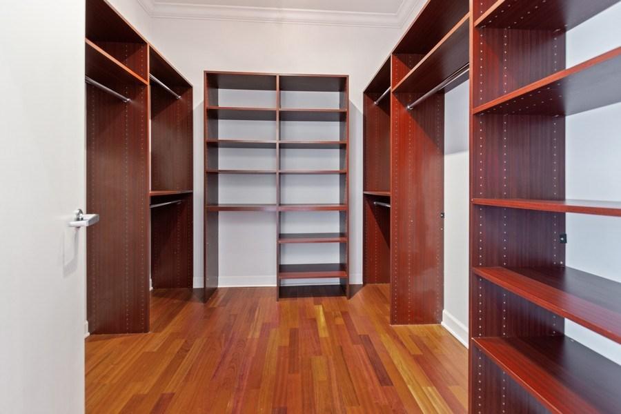 Real Estate Photography - 1335 S. Prairie Avenue, Unit 504, Chicago, IL, 60605 - Master Bedroom Closet