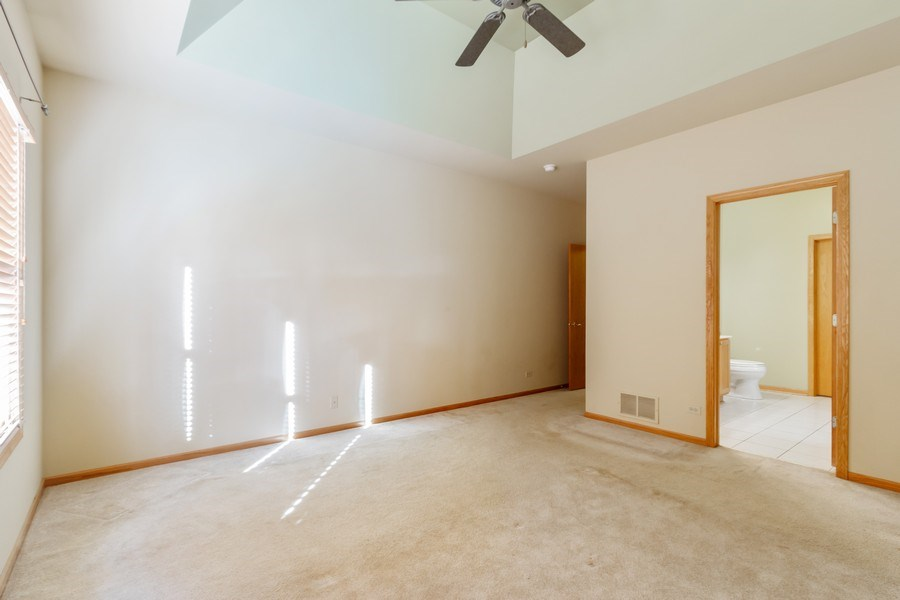 Real Estate Photography - 935 Woodland Dr, Antioch, IL, 60002 - Master Bedroom
