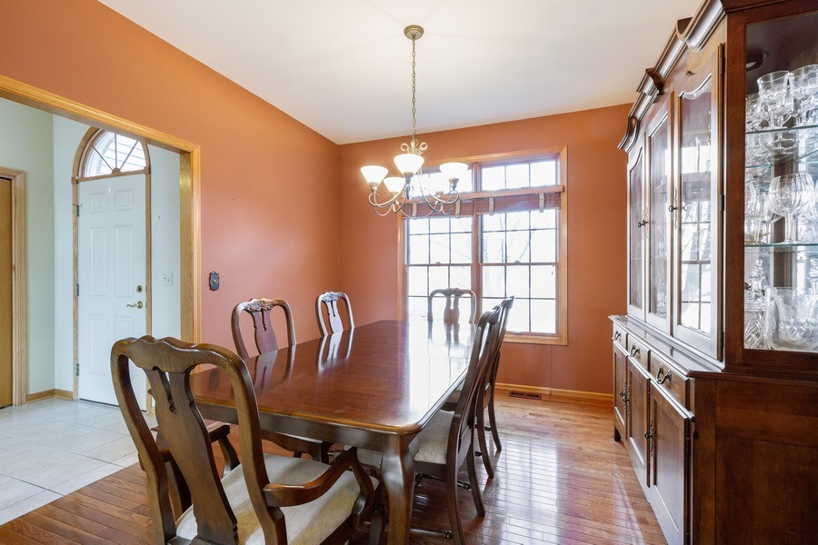 Real Estate Photography - 935 Woodland Dr, Antioch, IL, 60002 - Dining Room