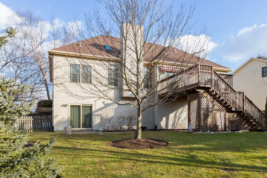 Real Estate Photography - 935 Woodland Dr, Antioch, IL, 60002 - Rear View