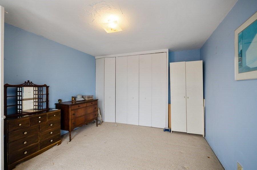 Real Estate Photography - 1400 E. 55th Place, Unit 1002S, Chicago, IL, 60637 - Bedroom