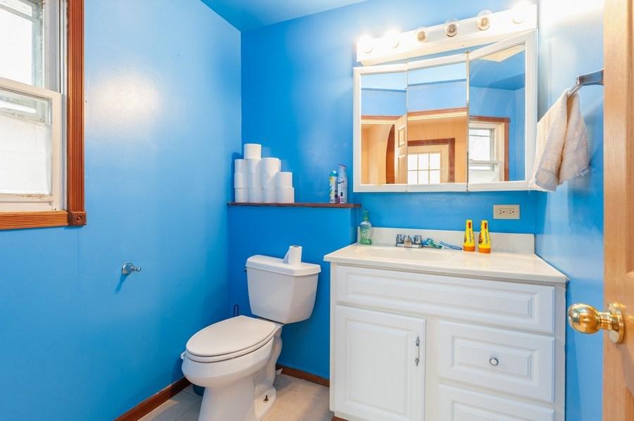 Real Estate Photography - 25950 W. Kathryn Drive, Antioch, IL, 60002 - Powder Room