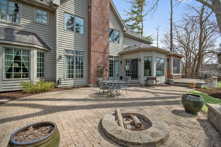 Real Estate Photography - 1221 Millet Street, Naperville, IL, 60563 - Back Yard