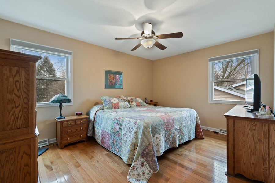 Real Estate Photography - 815 Ohio Avenue, St. Charles, IL, 60174 - Master Bedroom