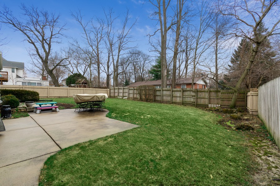 Real Estate Photography - 815 Ohio Avenue, St. Charles, IL, 60174 - Back Yard